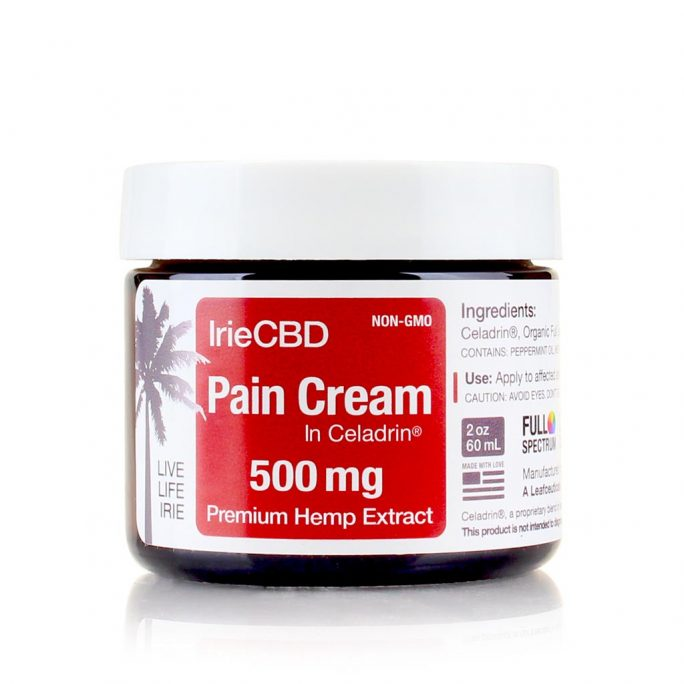 IrieCBD Pain Cream 500mg